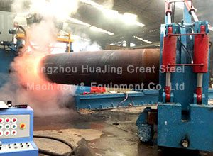 Induction Heating Hot Forming Mandrel Elbow Machine