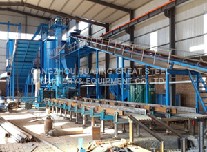 Automatic casting line